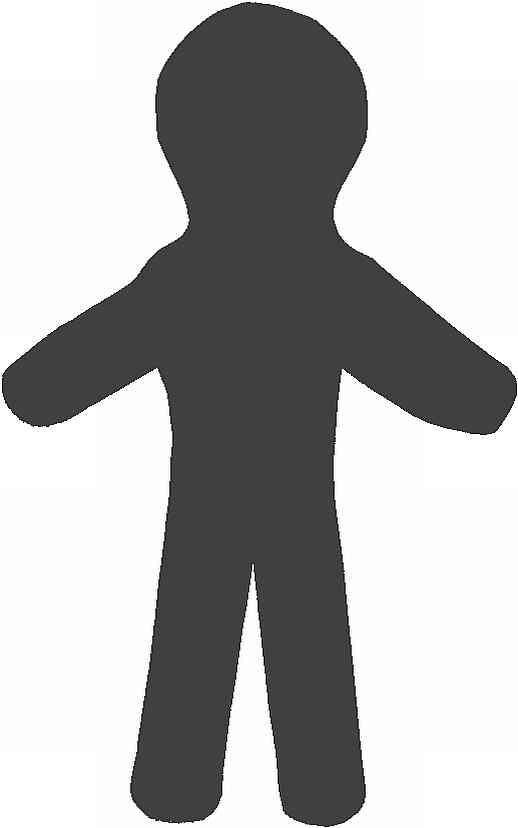 Skulle den gerne blive 21,7 cm høj og 13,5 cm fra hånd til hånd